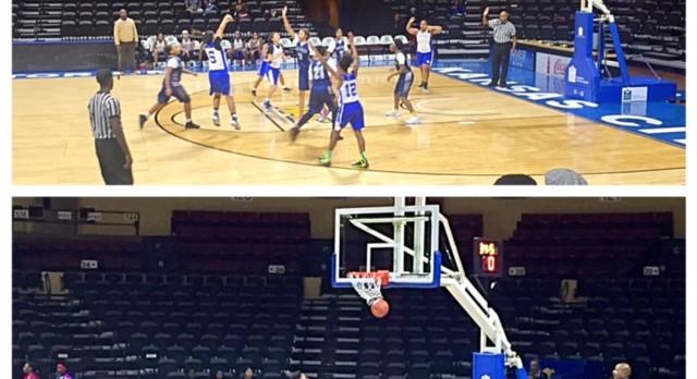 Middle School Basketball Teams Win at Municipal Auditorium