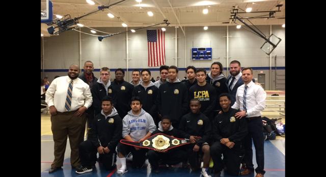 Lincoln Wrestling Wins IL Championship