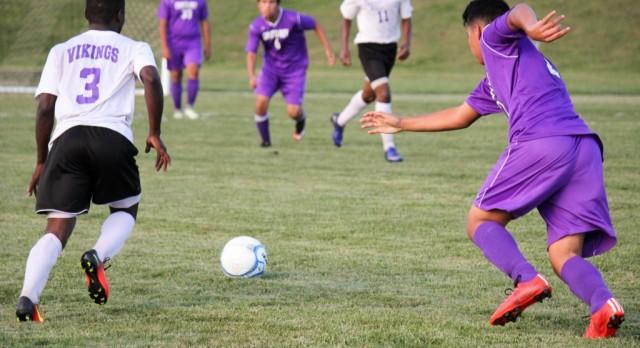 Northeast Senior High School Boys Varsity Soccer beat Cristo Rey Kansas City High School 4-1