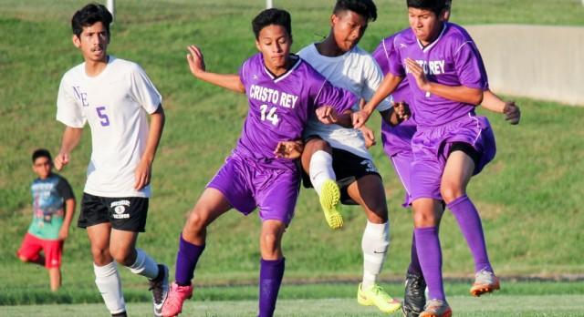 Northeast boys soccer defeats Cristo Rey 4-1