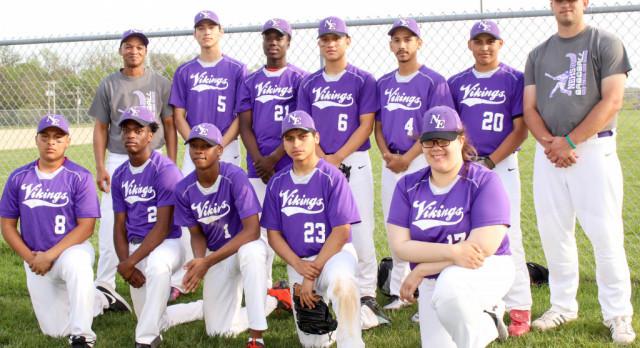 Northeast JV boys baseball continues Viking winning ways against Lincoln Prep!! 15-7