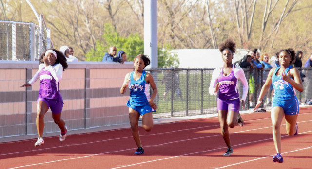 Northeast and Central participate in I.L. track meet