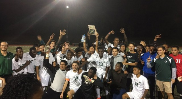 East  Soccer Wins District Championship!