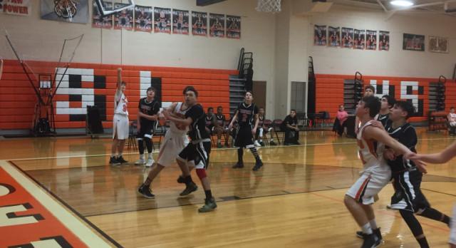 Springfield Local High School Boys Freshman Basketball beat Memorial (Campbell) 46-24