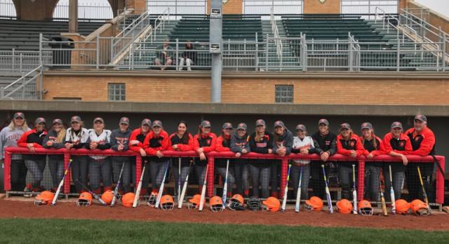 Springfield Local High School Varsity Softball beat Windham High School 12-0