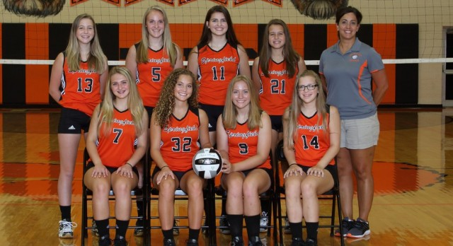 Springfield Local High School Girls Junior Varsity Volleyball beat Wellsville High School 2-0