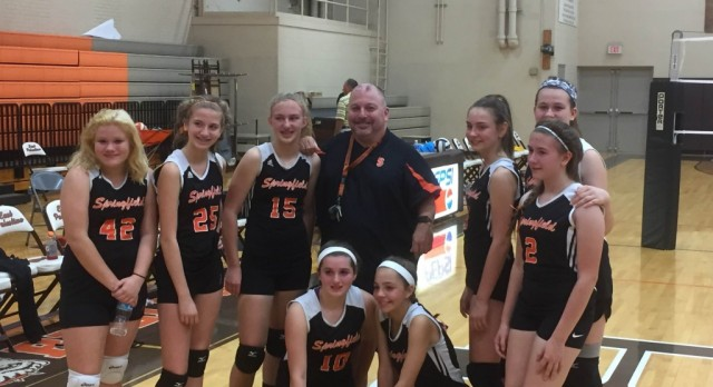 7th Grade Volleyball ITCL Runner-Up