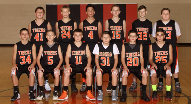 Springfield Local Boys 7th Grade Basketball beat East Palestine High School 43-21