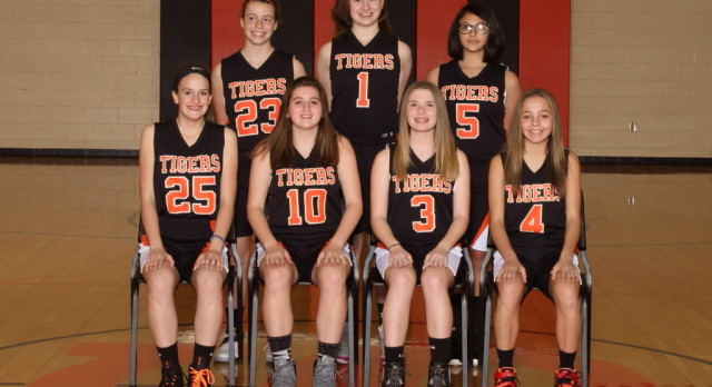 Springfield Local Girls 7th Grade Basketball beat South Range High School 28-16