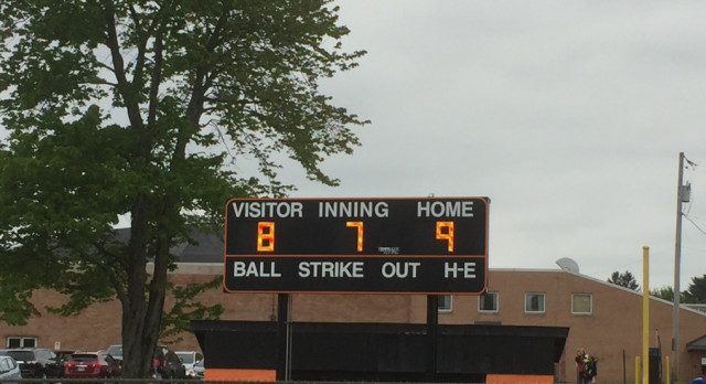 Springfield Local High School Varsity Softball beat Youngstown Ursuline 9-8