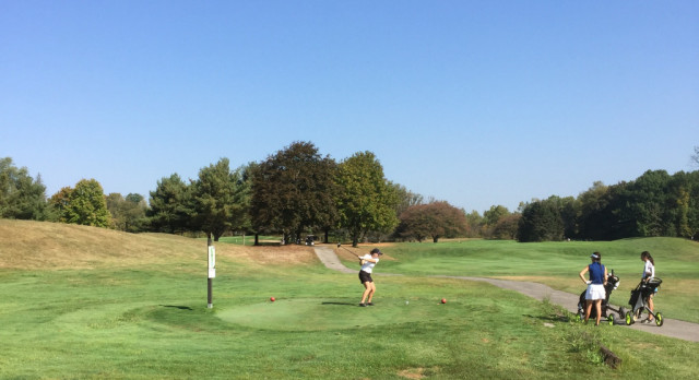 Horvath Advances in DII Girls Golf Tournament