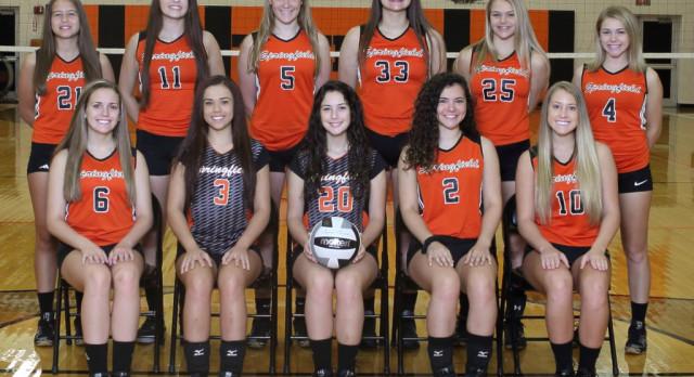 Springfield Local High School Girls Varsity Volleyball beat vs Poland Seminary 3-0