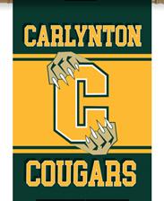 Carlynton Cougars Garden Flags for SALE