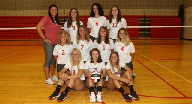 Norwayne High School Girls Varsity Volleyball beat DALTON 3-2