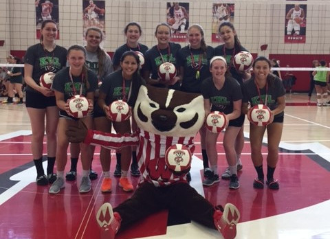 Badger Volleyball Camp