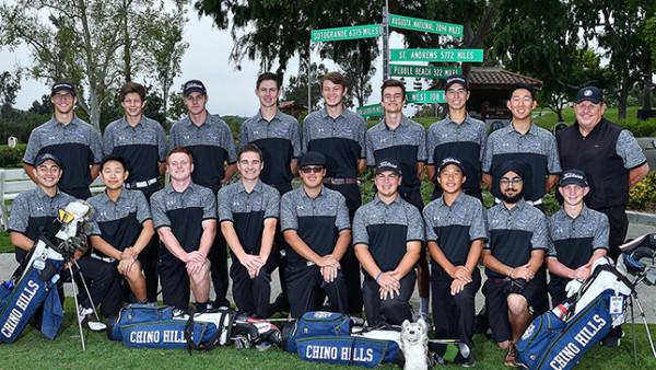 Team Photo Boys Golf