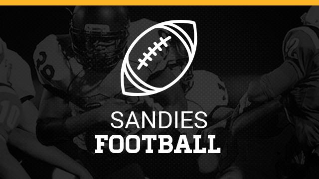 Sandie Football 2017 Dates and times
