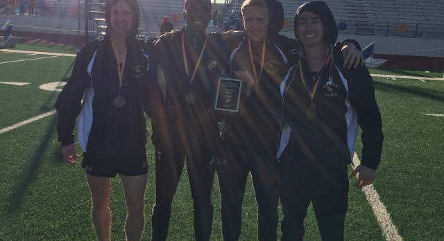 Amarillo High School Boys Varsity Track finishes 2nd place