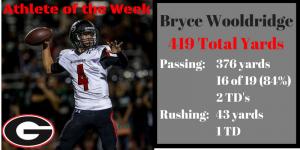 Athlete of the week bryce