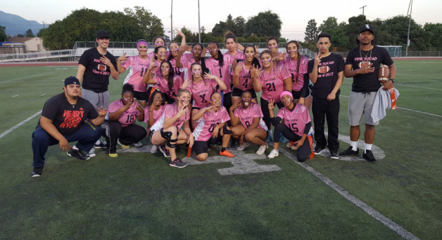 Class of 2017 is Powder Puff Perfect: 3 for 3 after Friday's Win!!