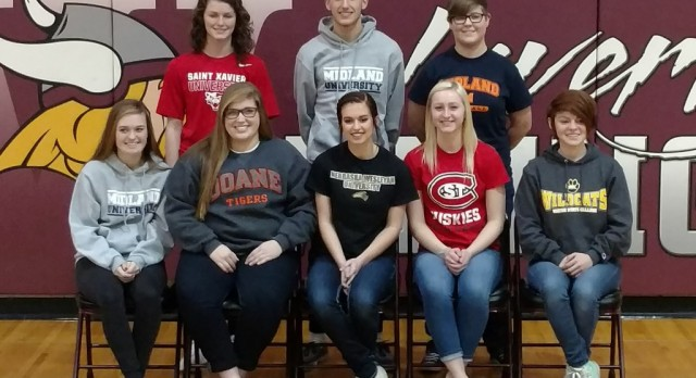 2017 National Signing Day @ Waverly High School