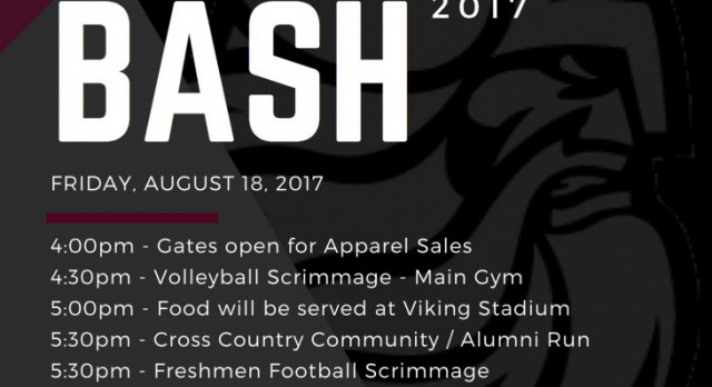 2017 Booster Bash – August 18
