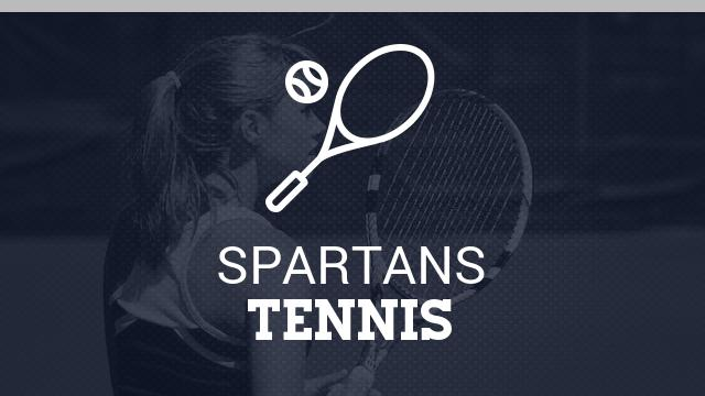 Lady Spartan Tennis sweeps the Vikings in Valhalla