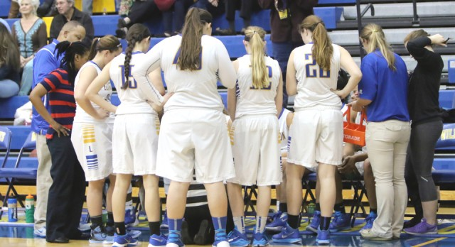 Lady Wildcats Blow Out South Aiken on Senior Night