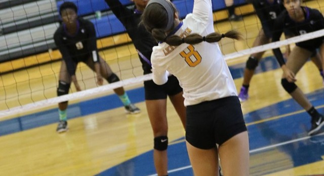 VB Season Ends In 2nd Round; Salley Named-All State