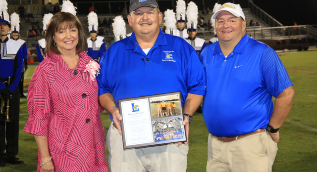 Coach Leaphart Honored For Legendary Career