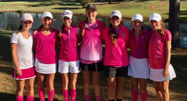 Golfers Win Pink-Out Tourney!