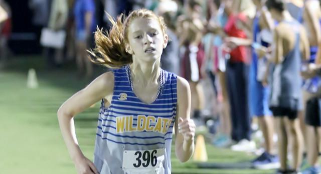 Ava Fowler:  All-State XC Runner!