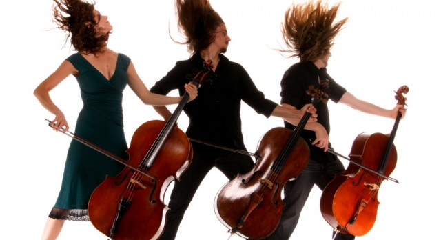 Cello Fury returns to IAJHS for a string rock concert, January 27 at 6:30 PM