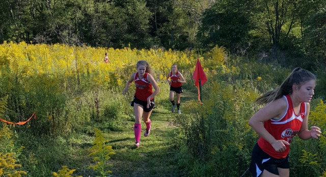 Cross Country Meet against Freport and Riverview