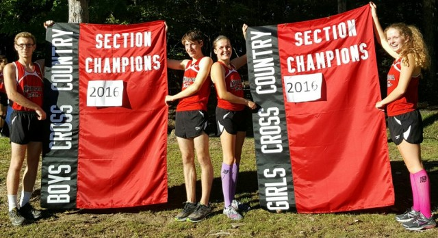 Indiana Boys' & Girls' Cross Country Teams First Time Section Champions