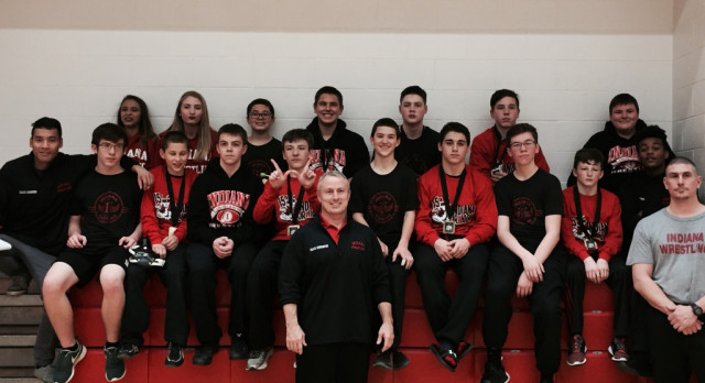 JH wrestlers take 1st place at Indiana Wrestling Tournament