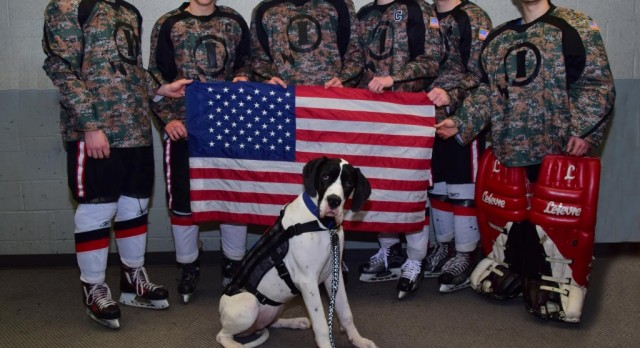 Military Hockey Recognition Evening