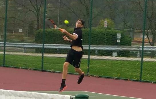 Indiana Area Senior High School Boys Varsity Tennis beat Greensburg Salem High School 5-0