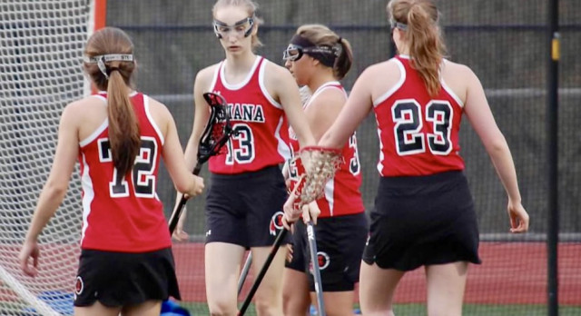 Indiana Area Senior High School Girls Varsity Lacrosse falls to Shady Side Academy 23-9