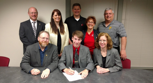 Sam Lenze Signs Letter of Intent to IUP for Cross Country and Track