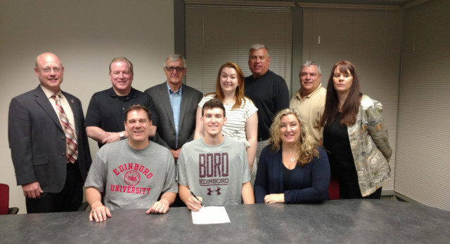 Jake Benhart Signs Letter of intent to Play Basketball at Edinboro