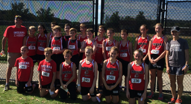 JH Cross Country team takes 1st place at IUP Invitational