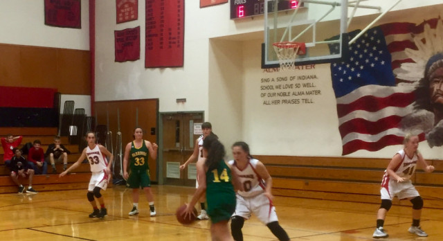 7&8th Grade Girls Basketball both improve to 3-0