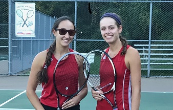 Girls' Tennis Section 3AA Doubles
