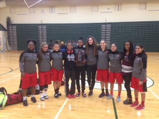 Lady Falcon Basketball District Runner Up!