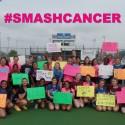 Lady Royals Tennis:  HSE vs. Fishers (Mudsock & #smashcancer Match)