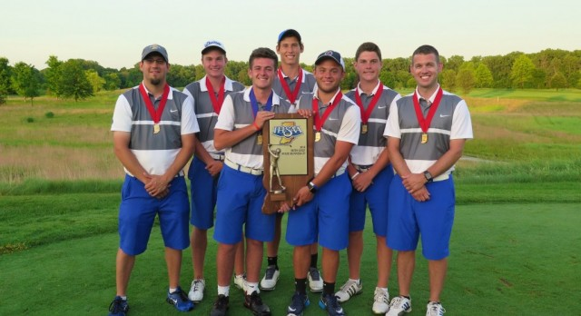 Hamilton Southeastern Royals – 2016 IHSAA Golf State Runner up