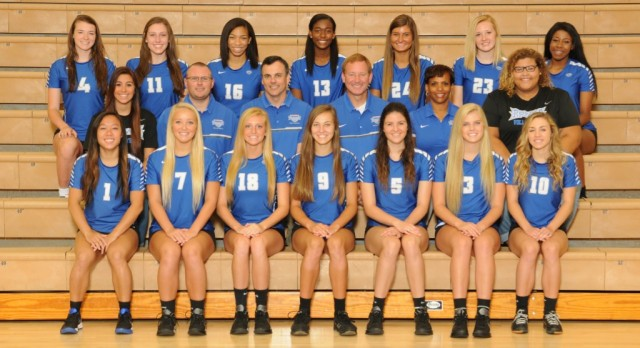 2016 Girls Volleyball Team