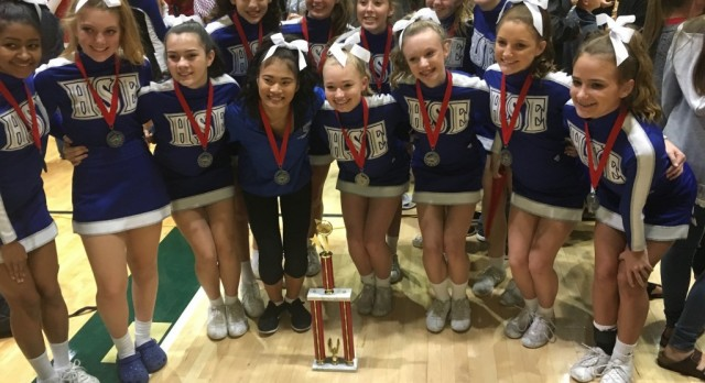 JV Competition Cheer Team's Successful Season