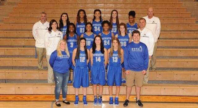 2016-2017 Varsity Girls Basketball Team